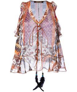 Roberto Cavalli | Printed Vest Size 42