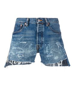Forte Couture   Distressed Denim Shorts
