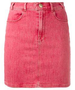 Frame Denim   Retro Denim Skirt