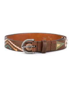 Htc Hollywood Trading Company | Seabed Print Belt