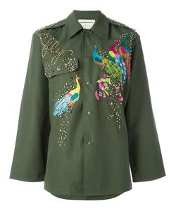 Night Market | Peacock Embroidered Jacket