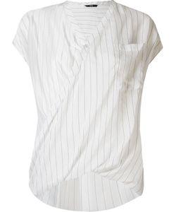 Uma | V Neck Striped Blouse