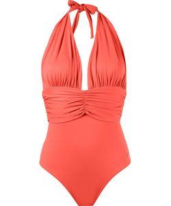 Brigitte | Deep Neck Swimsuit