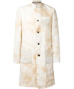 Individual Sentiments | Marble Print Effect Coat