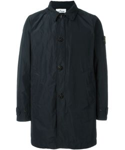 Stone Island | Button Down Trench Coat Large
