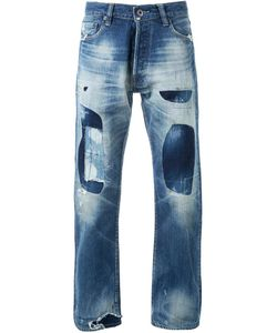 Simon Miller | Patched Straight-Leg Jeans