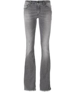 +People | People Frayed Hem Bootcut Jeans