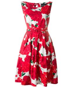 Samantha Sung | Flower Print Belted Dress