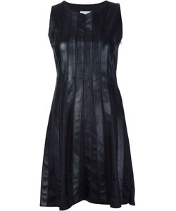 Beau Souci | Panelled Leather Dress