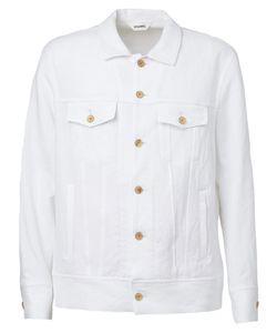 Digawel   Contrast Sleeve Shirt