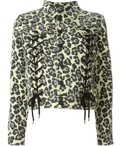 Sibling | Leopard Print Jacket Medium