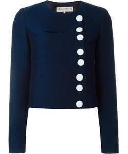 Emilio Pucci   Monogram Button Jacket 42