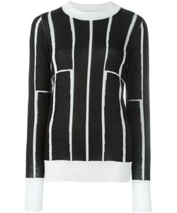 Etienne Deroeux | Striped Contrast Crew Neck Jumper