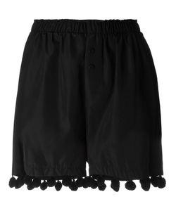 Christopher Shannon | Elastic Waist Pompom Detail Shorts
