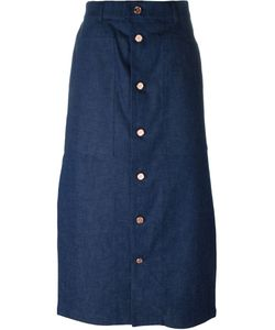 Julien David | Button Up Skirt