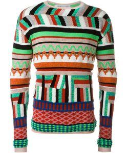 James Long | Zig-Zag Knit Sweater