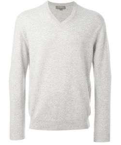 N.Peal | The Burlington V Neck Jumper