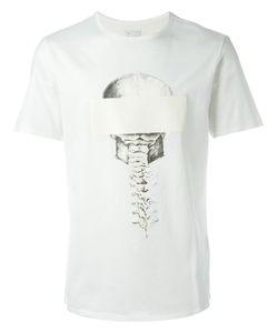 Cy Choi   Skeleton Print T-Shirt