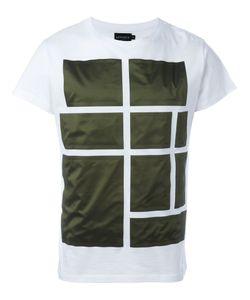 Letasca   Squares Print T-Shirt