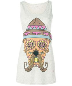 +People | Skull Print Tank Top