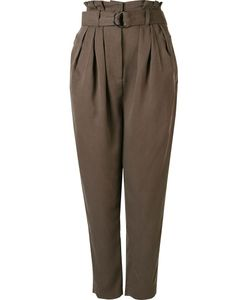 Andrea Marques | Pleated High Waisted Trousers 38