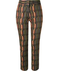Andrea Marques | Mid-Rise Printed Straight Trousers