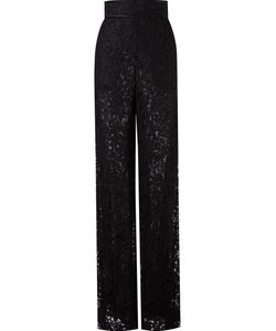 Martha Medeiros | Lace Wide Leg Trousers
