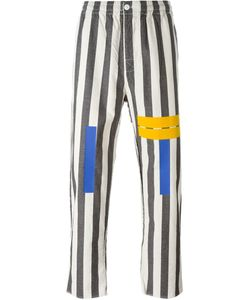 Sold Out Frvr | Multi Print Striped Trousers
