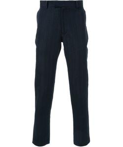 Strateas Carlucci | Textured Slim Fit Trousers Medium