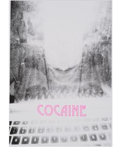 House Of Voltaire | Clunie Reid Cocaine Risograph Print