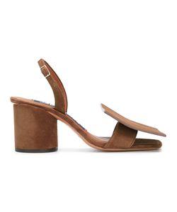 Jacquemus | Geometric-Detailed Slingback Sandals Size 36