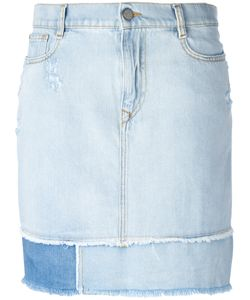 Vivienne Westwood Anglomania | Frayed Straight Denim Skirt Size 26