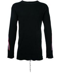 Facetasm | Stripe Detail Longsleeve Sweater