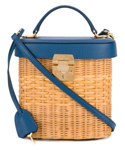 Mark Cross | Benchley Rattan Tote