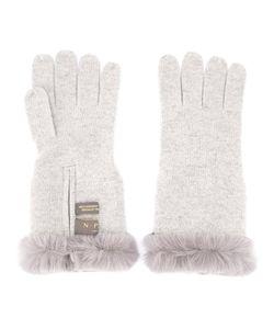 N.Peal | Fur Trim Gloves
