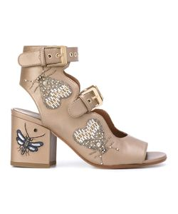 Laurence Dacade | Beaded Insect Sandals Size 37