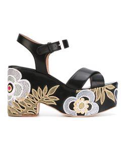 Laurence Dacade   Helissa Shiny Sandals
