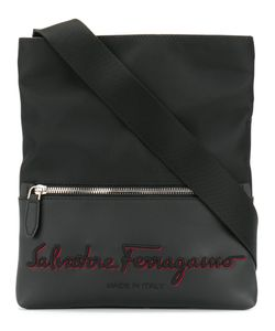 Salvatore Ferragamo | Embroidered Logo Messenger Bag