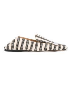 Sergio Rossi | Striped Slippers Size 39