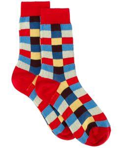 Miu Miu | Check Cotton Socks Size 2