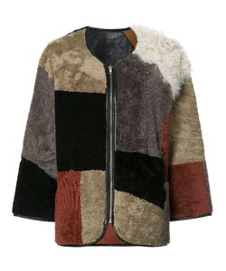YMC | Patchwork Fur Jacket Small Sheep Skin/Shearling