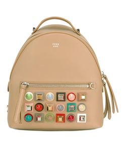 Fendi   Studded Backpack Calf Leather/Metal Other