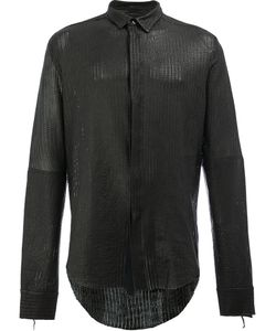 Cedric Jacquemyn | Leather Shirt 48 Lamb Skin