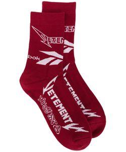 VETEMENTS | Logo Print Socks Size 36