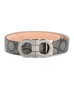Salvatore Ferragamo | Logo Buckle Belt Size 115 Leather/Metal Other