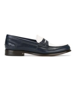 Church's | Contrast Vamp Penny Loafers Size 36.5