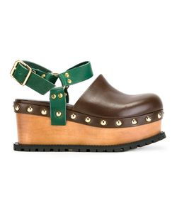 Sacai | Studded Clog Sandals