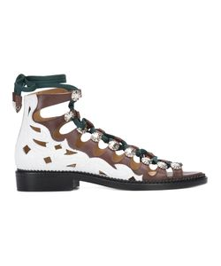 Toga Pulla | Hi-Top Lace-Up Sandals