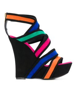 Balmain | Inti Suede Wedge Sandals