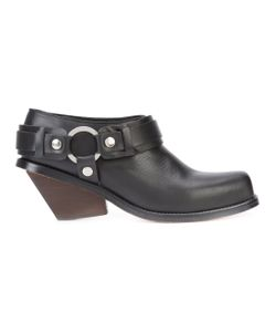 Wanda Nylon | Chunky Heel Boots